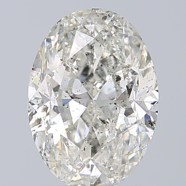 2.02 Carat Oval Loose Diamond, H, I1, Excellent, GIA Certified