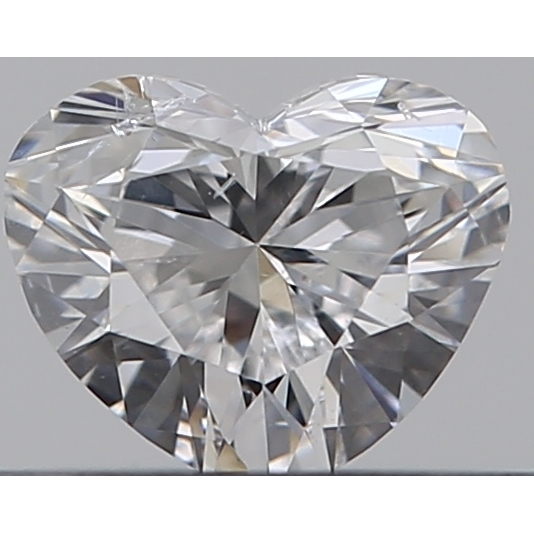 0.30 Carat Heart Loose Diamond, E, SI2, Super Ideal, GIA Certified