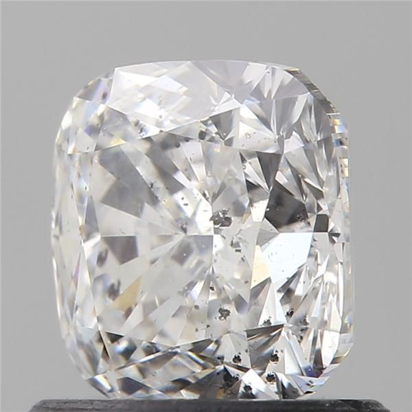 1.00 Carat Cushion Loose Diamond, D, SI2, Excellent, GIA Certified