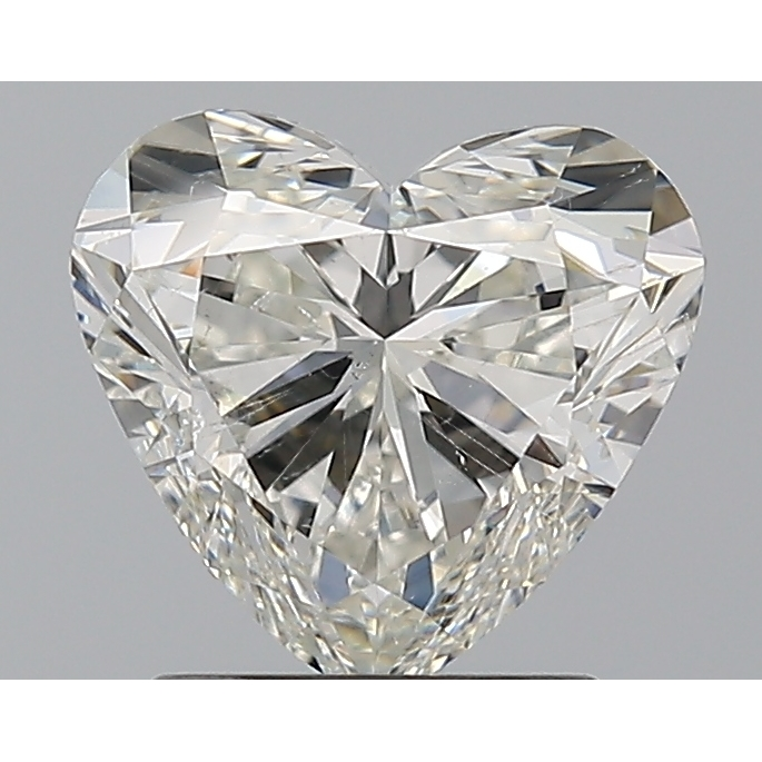 1.50 Carat Heart Loose Diamond, I, SI1, Super Ideal, GIA Certified
