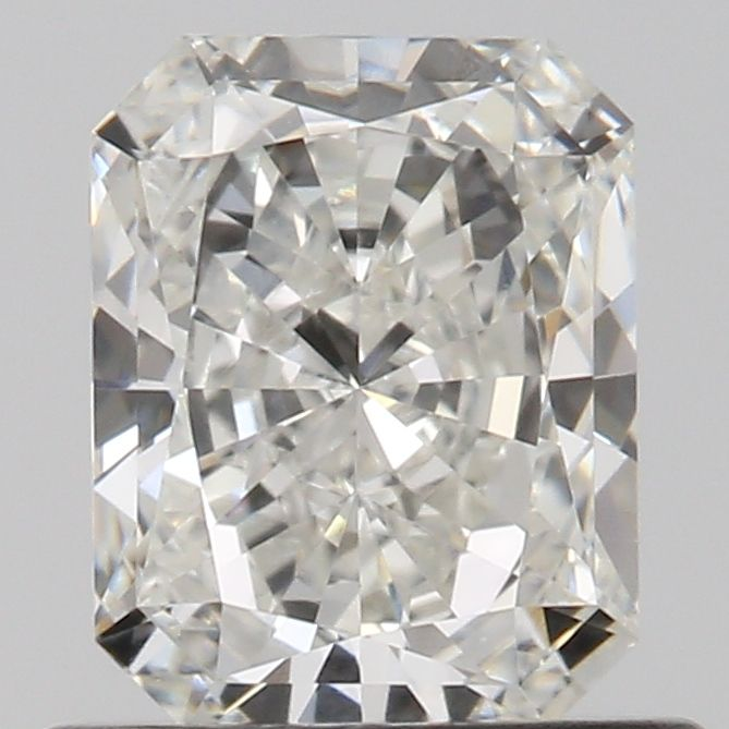 0.60 Carat Radiant Loose Diamond, H, VS1, Excellent, GIA Certified