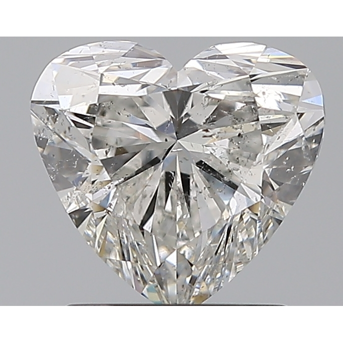 1.20 Carat Heart Loose Diamond, G, SI2, Super Ideal, GIA Certified