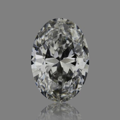 0.57 Carat Oval Loose Diamond, E, VS2, Super Ideal, GIA Certified