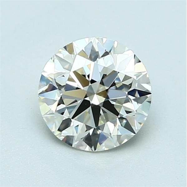 1.00 Carat Round Loose Diamond, L, IF, Super Ideal, GIA Certified