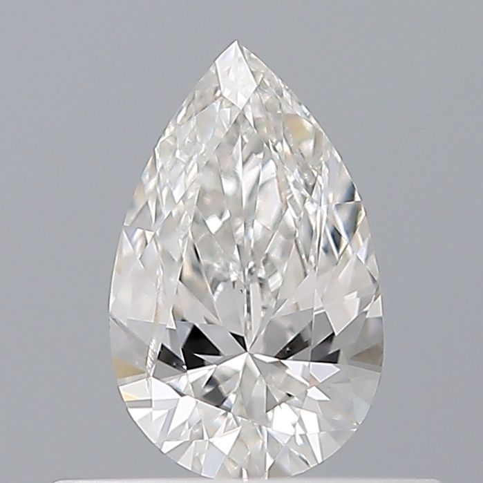 0.32 Carat Pear Loose Diamond, F, SI2, Excellent, GIA Certified