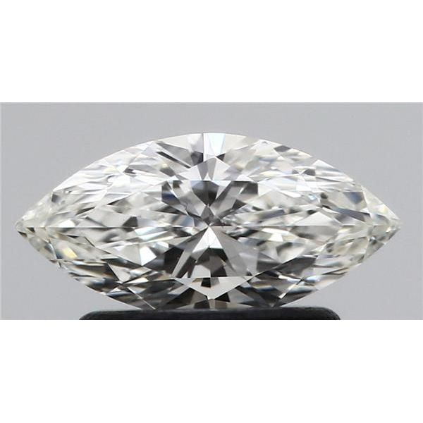 0.50 Carat Marquise Loose Diamond, H, VS2, Ideal, GIA Certified