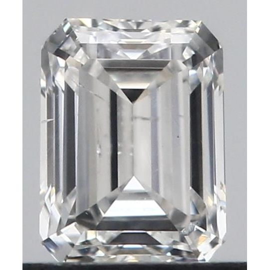 0.47 Carat Emerald Loose Diamond, F, I1, Excellent, GIA Certified
