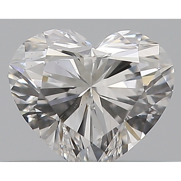 0.31 Carat Heart Loose Diamond, E, VS2, Ideal, GIA Certified