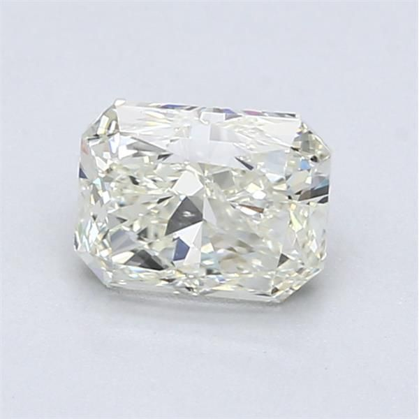 1.01 Carat Radiant Loose Diamond, L, SI1, Excellent, GIA Certified