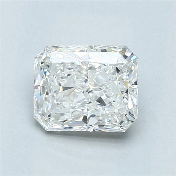 0.90 Carat Radiant Loose Diamond, F, SI1, Excellent, GIA Certified