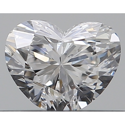 0.30 Carat Heart Loose Diamond, D, SI1, Excellent, GIA Certified