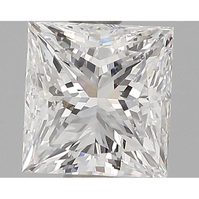 1.00 Carat Princess Loose Diamond, E, VS2, Very Good, GIA Certified