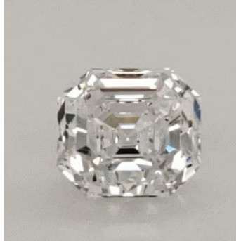 2.01 Carat Asscher Loose Diamond, D, SI1, Excellent, GIA Certified