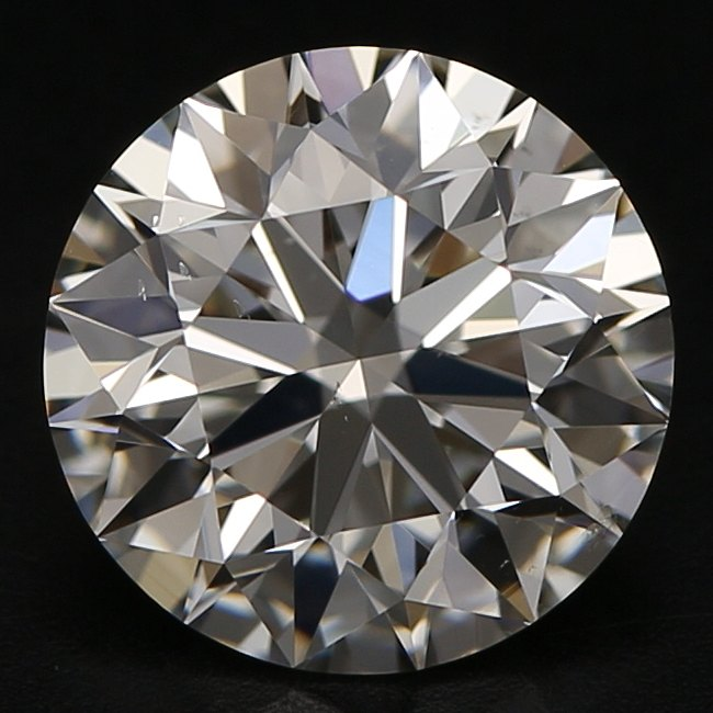 1.34 Carat Round Loose Diamond, H, VS2, Super Ideal, HRD Certified