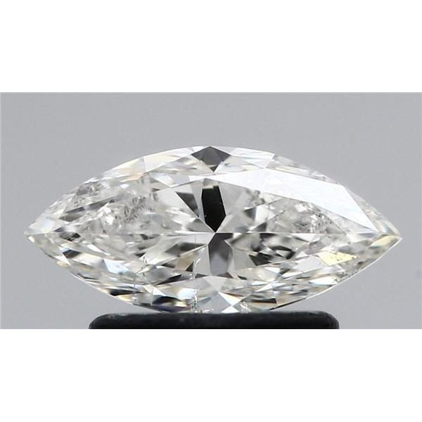 0.70 Carat Marquise Loose Diamond, H, SI2, Very Good, HRD Certified