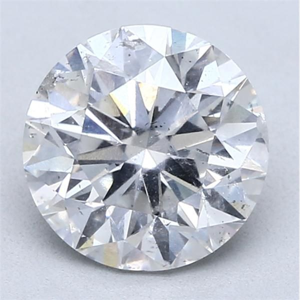 3.04 Carat Round Loose Diamond, E, SI2, Excellent, HRD Certified