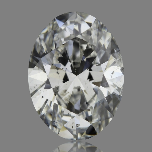 1.01 Carat Oval Loose Diamond, G, SI2, Super Ideal, HRD Certified | Thumbnail