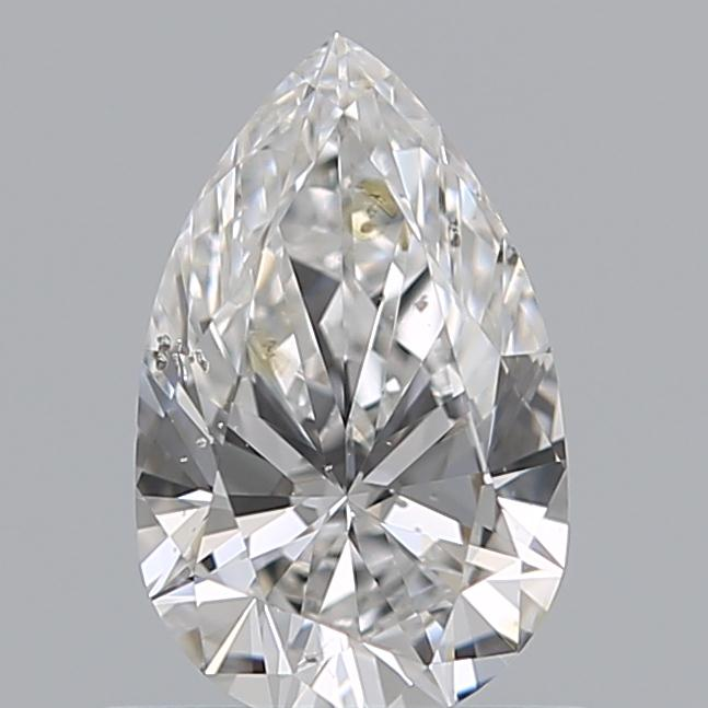 0.60 Carat Pear Loose Diamond, E, SI1, Super Ideal, HRD Certified | Thumbnail