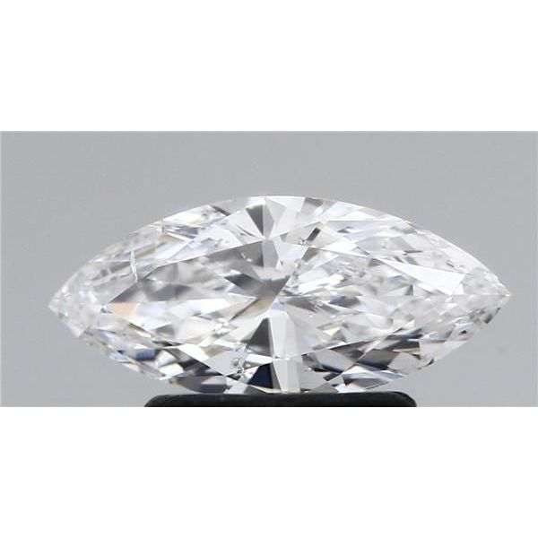 0.70 Carat Marquise Loose Diamond, D, SI1, Ideal, HRD Certified