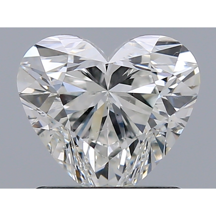 1.01 Carat Heart Loose Diamond, G, SI1, Super Ideal, HRD Certified