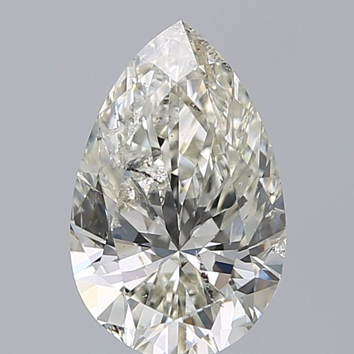 1.20 Carat Pear Loose Diamond, K, SI2, Super Ideal, HRD Certified