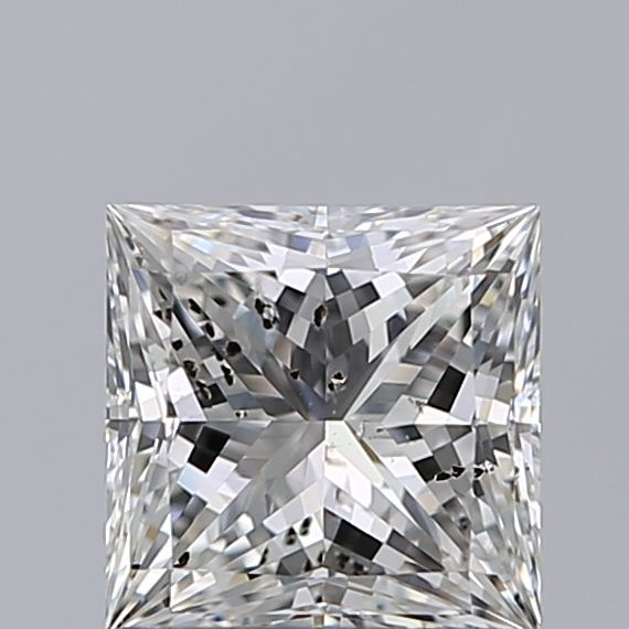 1.01 Carat Princess Loose Diamond, G, SI1, Super Ideal, HRD Certified