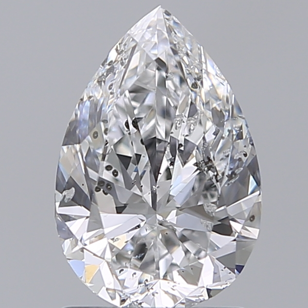 1.20 Carat Pear Loose Diamond, D, SI2, Super Ideal, HRD Certified | Thumbnail
