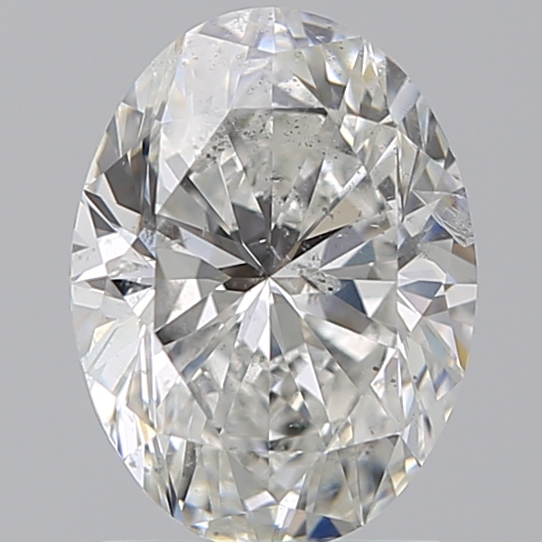 1.50 Carat Oval Loose Diamond, G, SI2, Super Ideal, HRD Certified