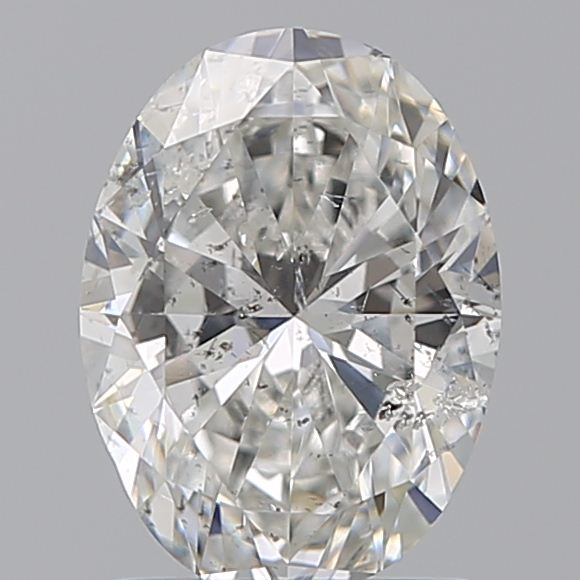 1.20 Carat Oval Loose Diamond, G, SI2, Super Ideal, HRD Certified