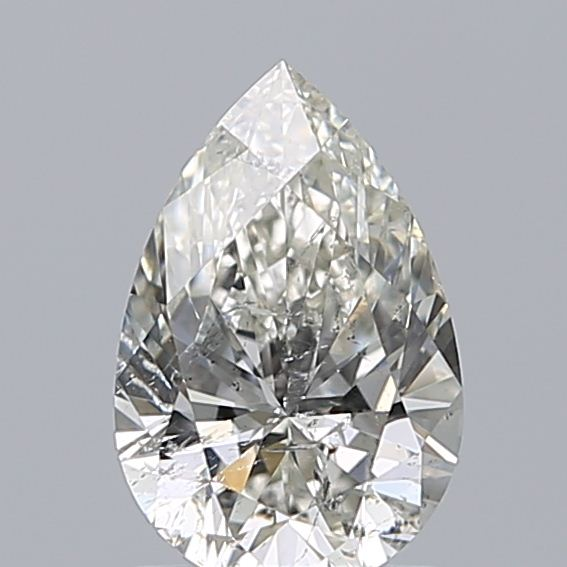 1.00 Carat Pear Loose Diamond, H, SI2, Super Ideal, HRD Certified