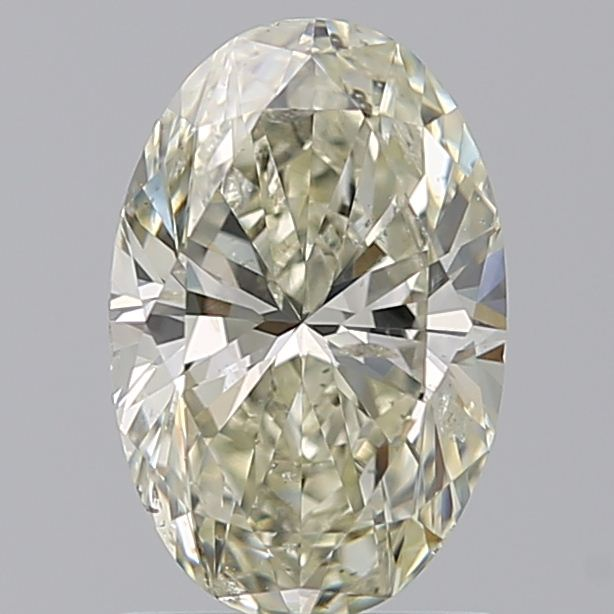 1.20 Carat Oval Loose Diamond, L, SI2, Super Ideal, HRD Certified