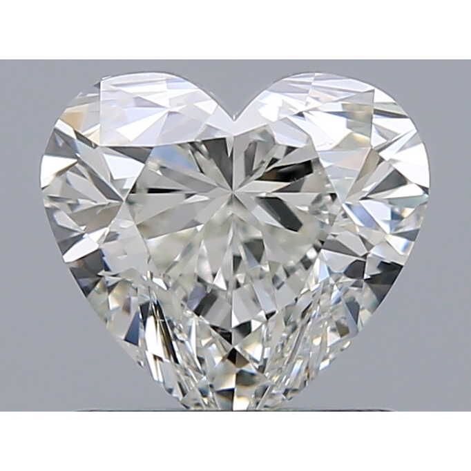 1.01 Carat Heart Loose Diamond, H, VS2, Super Ideal, HRD Certified