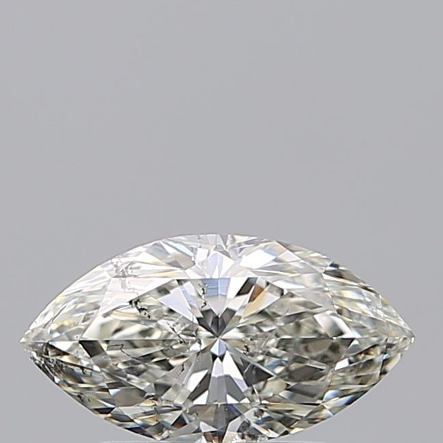 0.96 Carat Marquise Loose Diamond, H, SI2, Excellent, HRD Certified
