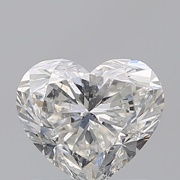 1.00 Carat Heart Loose Diamond, G, SI2, Ideal, HRD Certified