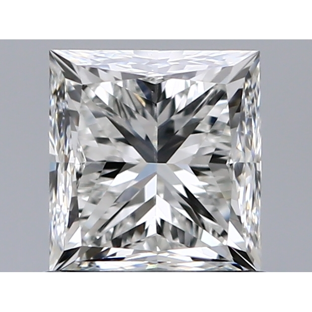 1.01 Carat Princess Loose Diamond, G, SI1, Excellent, HRD Certified