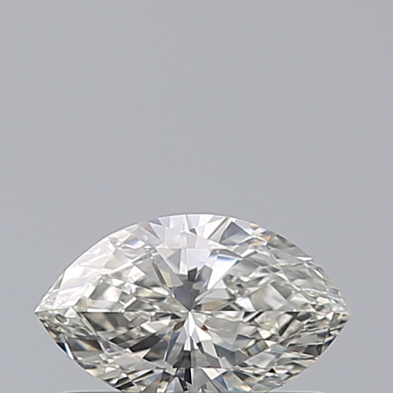 0.35 Carat Marquise Loose Diamond, H, VVS2, Ideal, HRD Certified