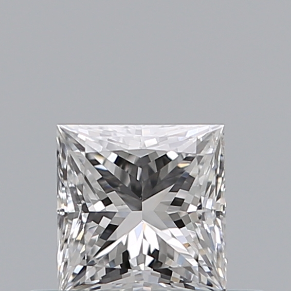 0.33 Carat Princess Loose Diamond, D, SI1, Super Ideal, HRD Certified | Thumbnail