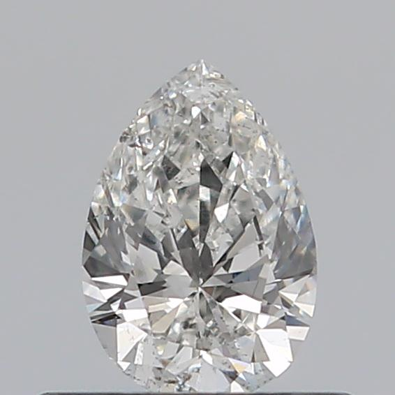 0.34 Carat Pear Loose Diamond, G, SI1, Excellent, HRD Certified