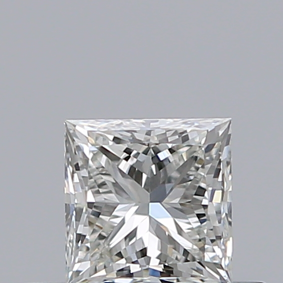 0.31 Carat Princess Loose Diamond, H, VS2, Super Ideal, HRD Certified | Thumbnail