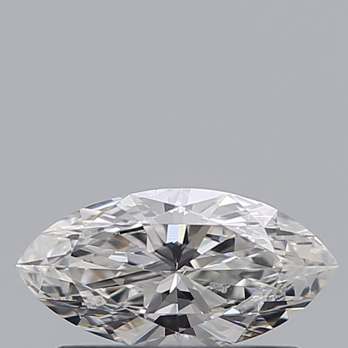 0.34 Carat Marquise Loose Diamond, D, VS2, Super Ideal, HRD Certified