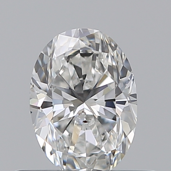0.40 Carat Oval Loose Diamond, F, SI1, Excellent, HRD Certified