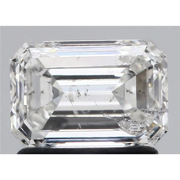 0.96 Carat Asscher Loose Diamond, G, SI2, Ideal, HRD Certified