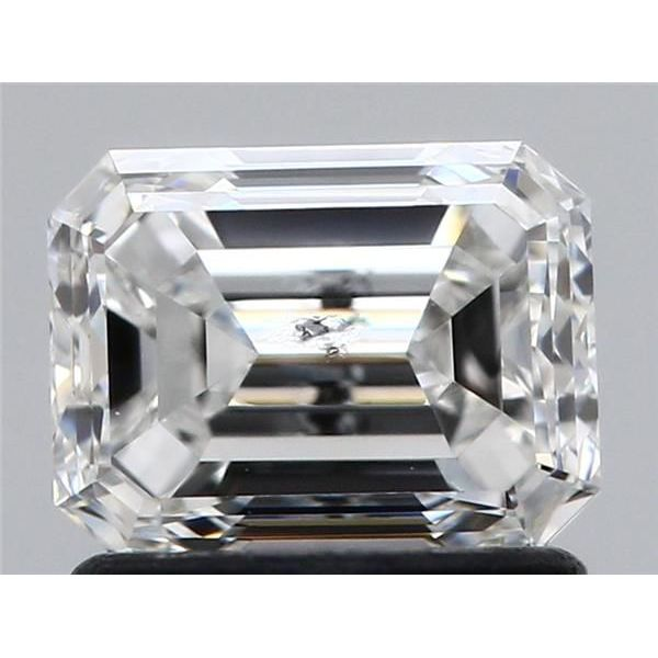 1.00 Carat Asscher Loose Diamond, E, SI2, Ideal, HRD Certified | Thumbnail