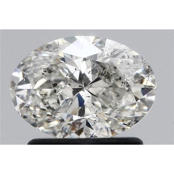 0.96 Carat Oval Loose Diamond, G, SI2, Super Ideal, HRD Certified | Thumbnail