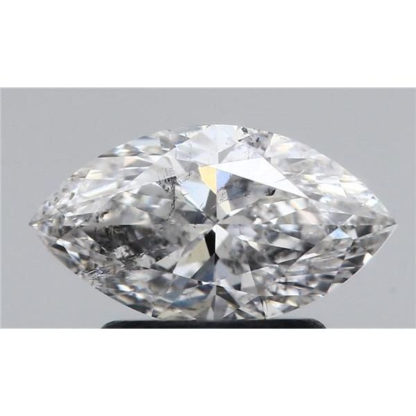 1.01 Carat Marquise Loose Diamond, E, SI2, Ideal, HRD Certified | Thumbnail