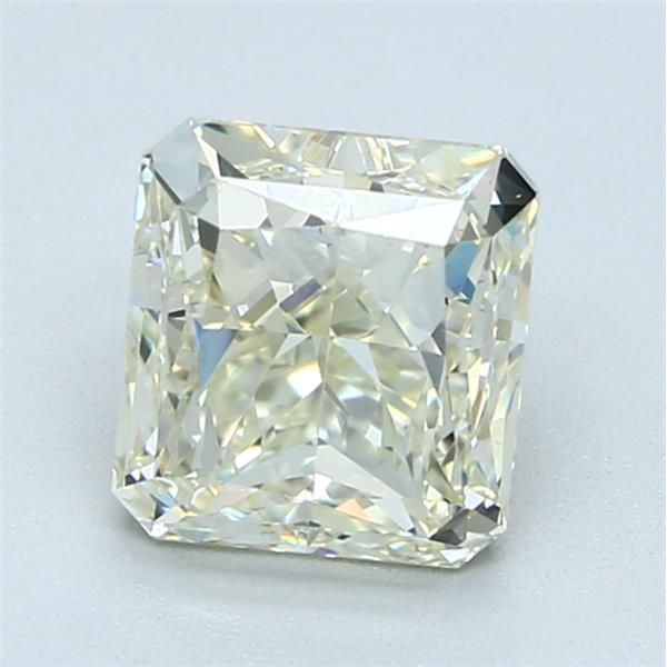 2.07 Carat Radiant Loose Diamond, L, SI1, Ideal, HRD Certified