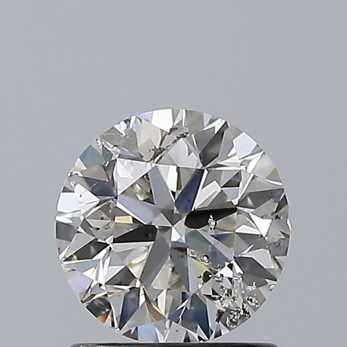 1.01 Carat Round Loose Diamond, G, SI2, Excellent, HRD Certified