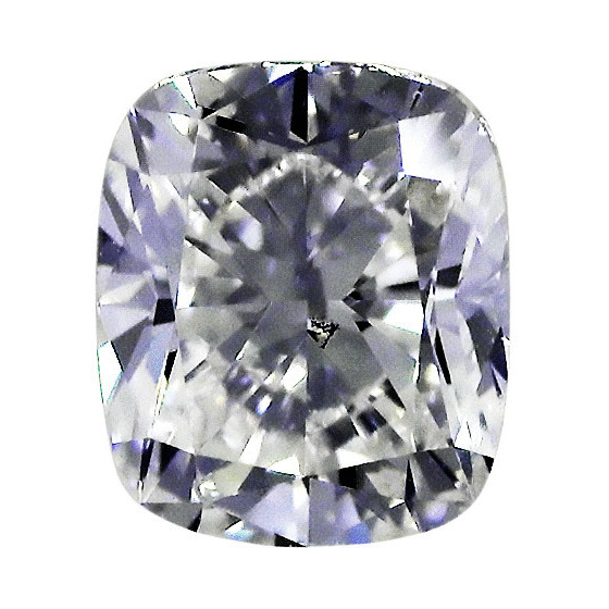 1.01 Carat Cushion Loose Diamond, H, VS2, Ideal, GIA Certified