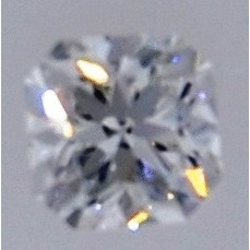 0.58 Carat Radiant Loose Diamond, H, VS1, Excellent, GIA Certified