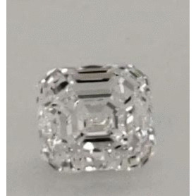 1.51 Carat Asscher Loose Diamond, E, VS2, Ideal, GIA Certified